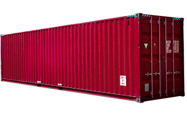 conteneur maritime 40 pieds High Cube - CMGE Container